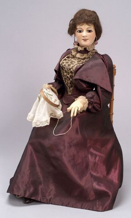 Gustave Vichy Automaton of a Sewing Lady