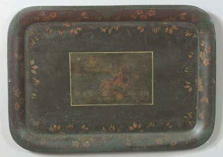 Painted Tole Tray