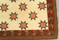 Pieced and Appliqued Cotton Quilt
