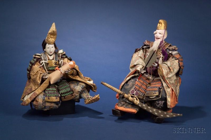 Three Japanese Festival Dolls