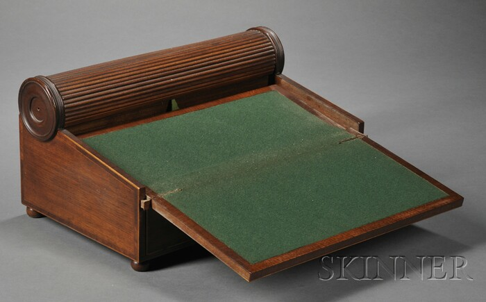Victorian Mahogany Lap Desk