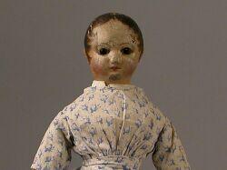 Izannah Walker Cloth Doll with Bare Feet
