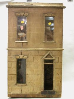 Early English Two-Room Dollhouse