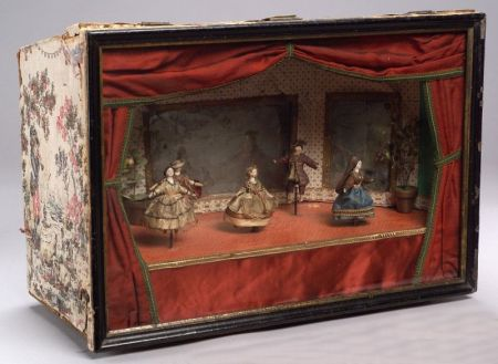 Early Tableau Mecanique Automaton by Antoine Vichy