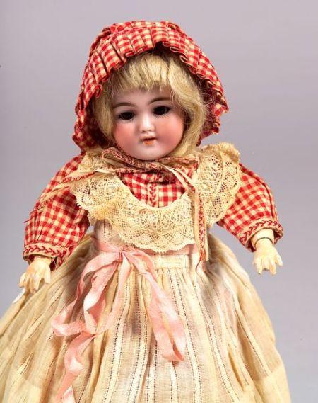 Simon Halbig 1249 Bisque Head Girl Doll