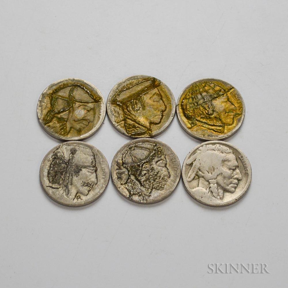 Six Hobo Nickels