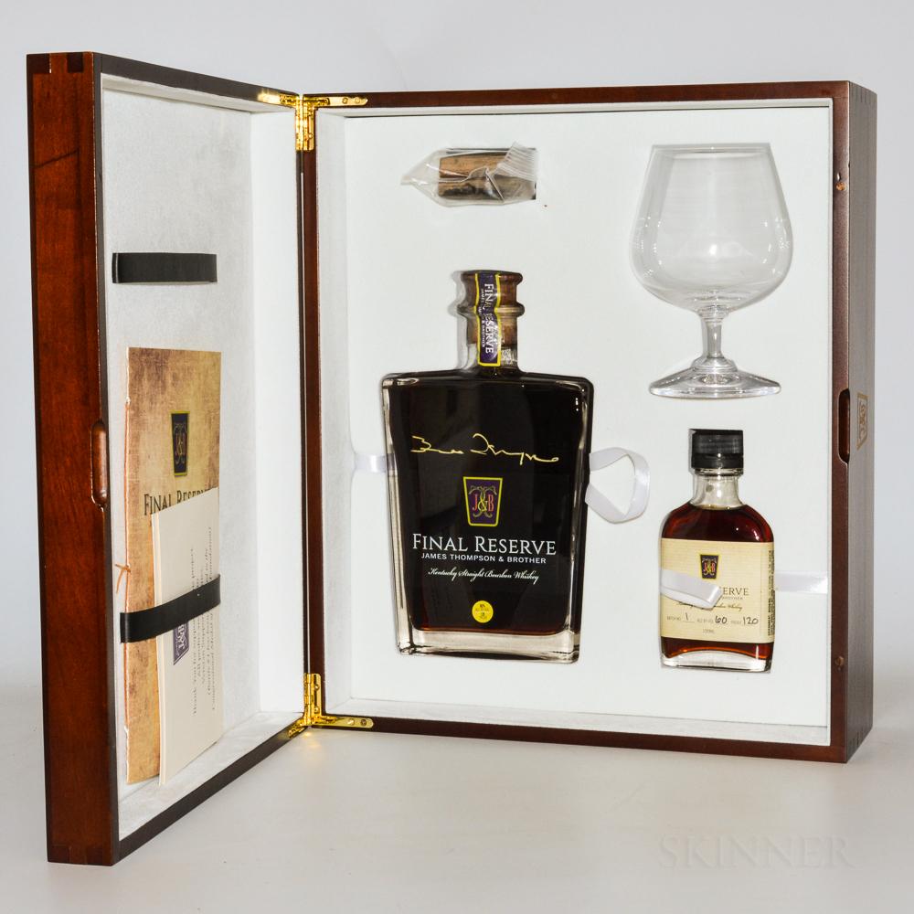 James Thomson & Brother Final Reserve Set, 3 750ml bottles 3 100ml bottles (pc)