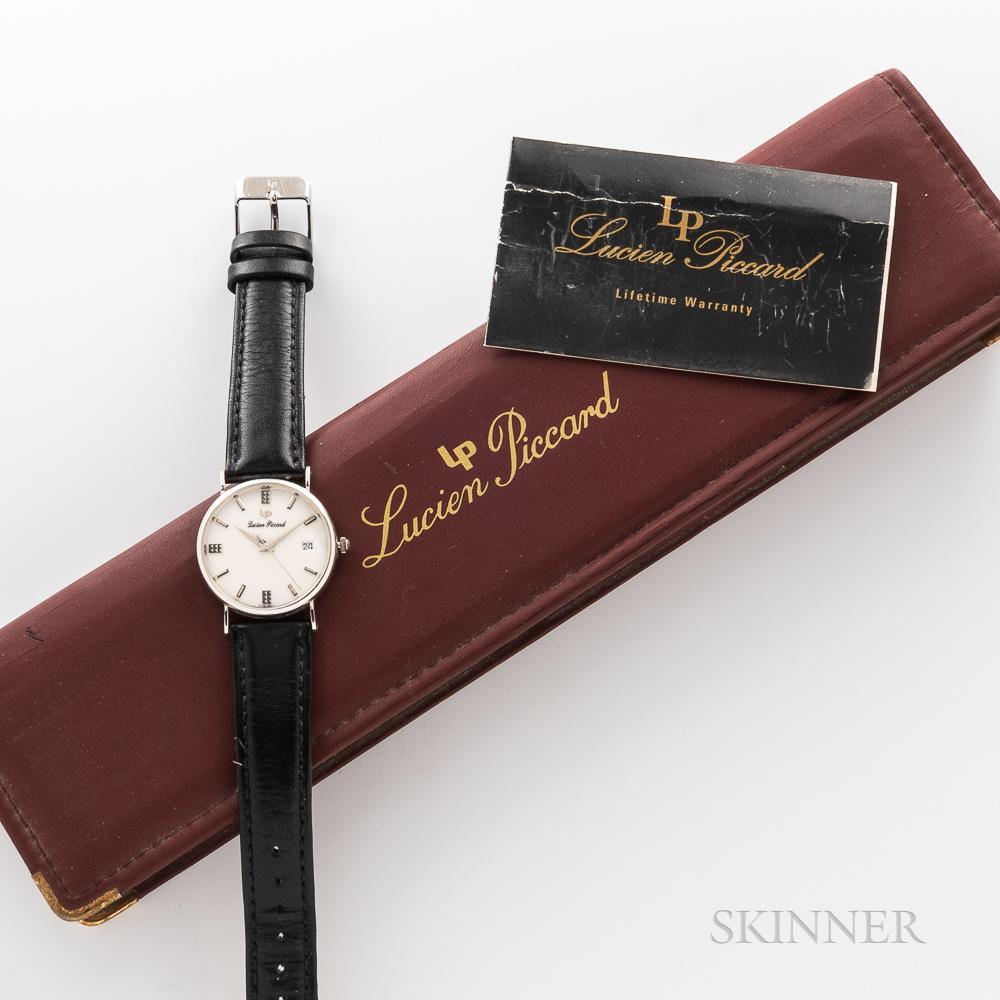 Lucien Piccard 14kt White Gold Wristwatch