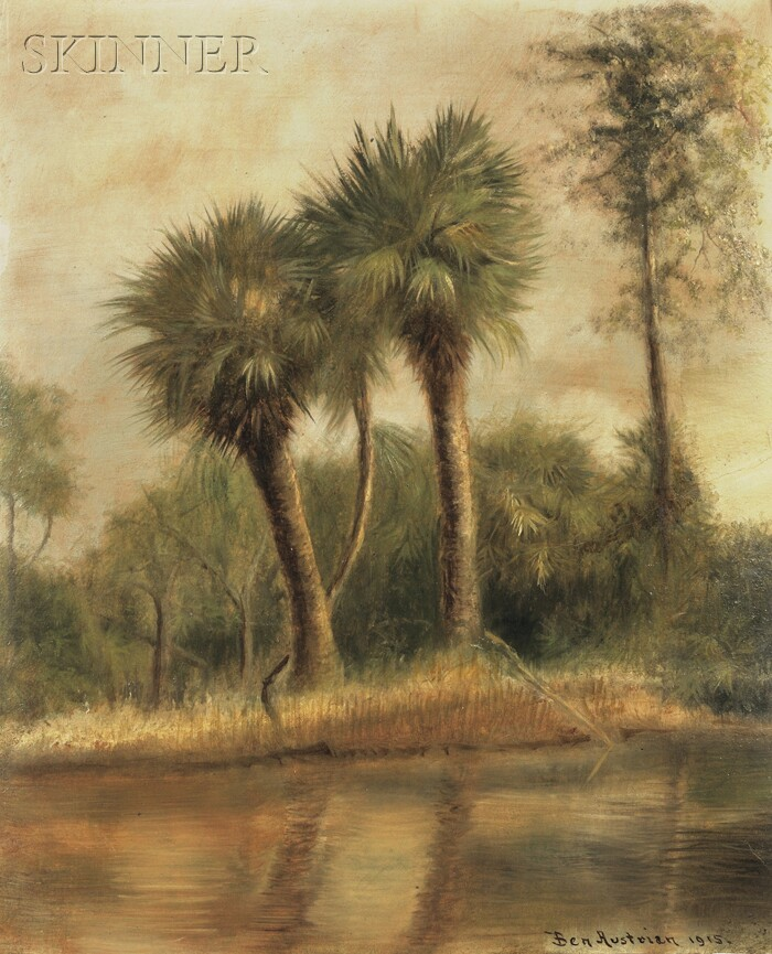 Ben Austrian (American, 1870-1921)      Florida View