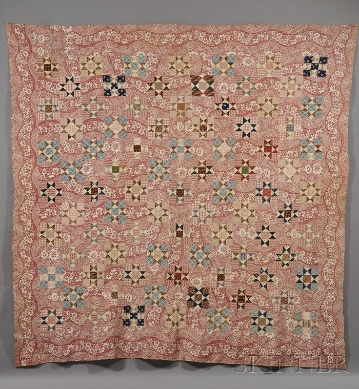 Pieced Cotton Patchwork Quilt