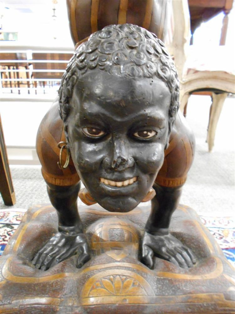 Pair of Blackamoor Sculptures