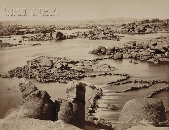 Felix Bonfils (French, 1831-1885)      1m Cataracte. Les Rapides/Egypte