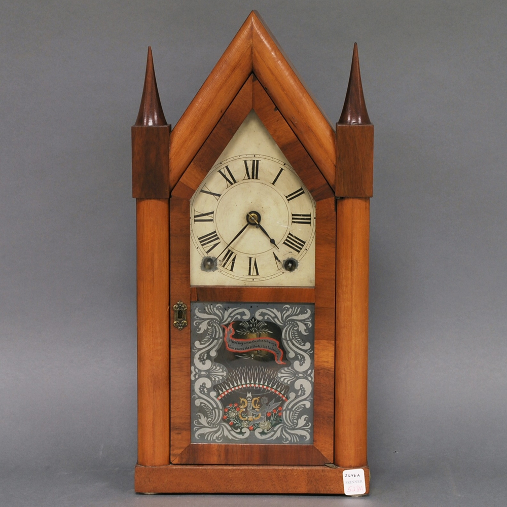 Terry & Andrews Steeple Clock