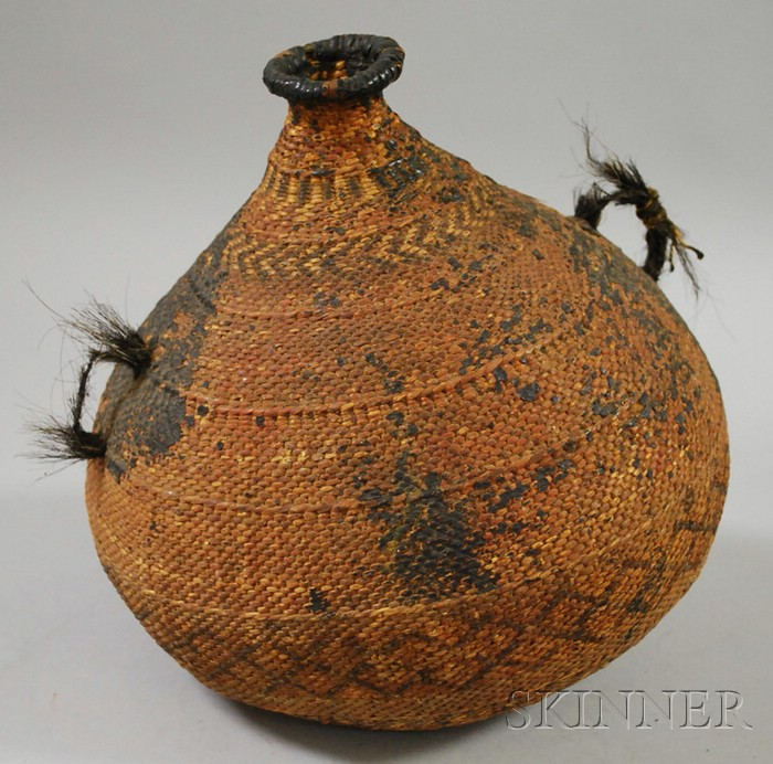 Paiute Water Bottle Basket
