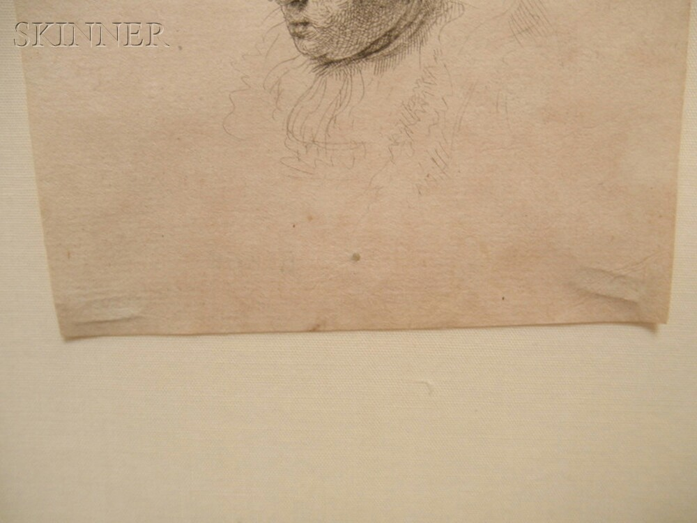 Rembrandt van Rijn (Dutch, 1606-1669)      Three Heads of Women, One Asleep