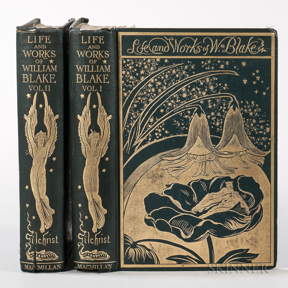 Gilchrist, Alexander (1828-1861) Life of William Blake.
