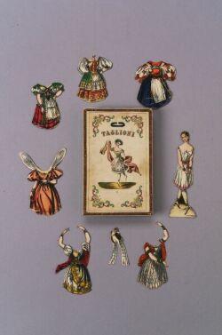 Taglioni Boxed Paper Doll