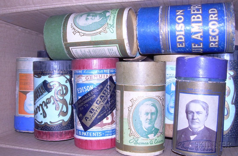 Fifteen Mixed Phonograph Cylinders