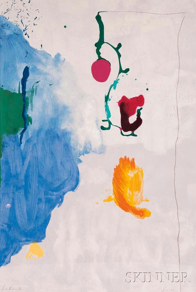 Helen Frankenthaler (American, 1928-2011)      Eve