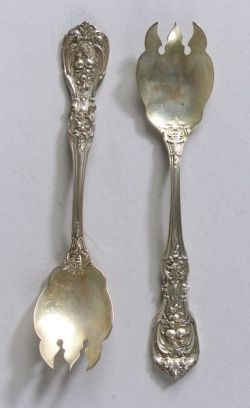 "Set of Twelve Reed & Barton ""Francis I"" Ice Cream Forks"