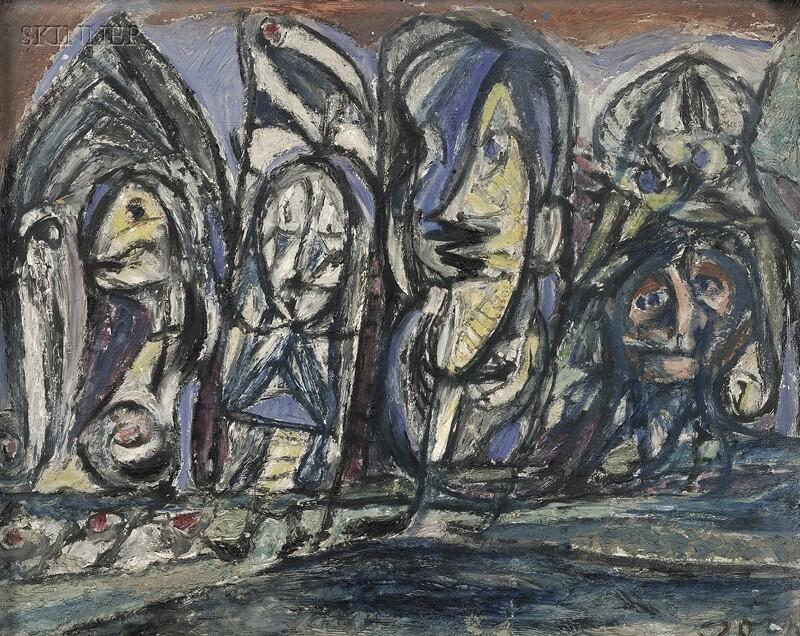 Asger Oluf Jorn (Danish, 1914-1973)      Untitled