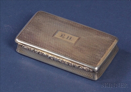 William IV Silver Snuff Box