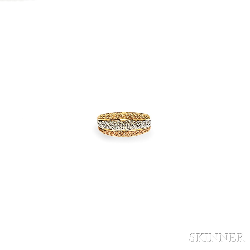 18kt Gold Bracelet and Ring