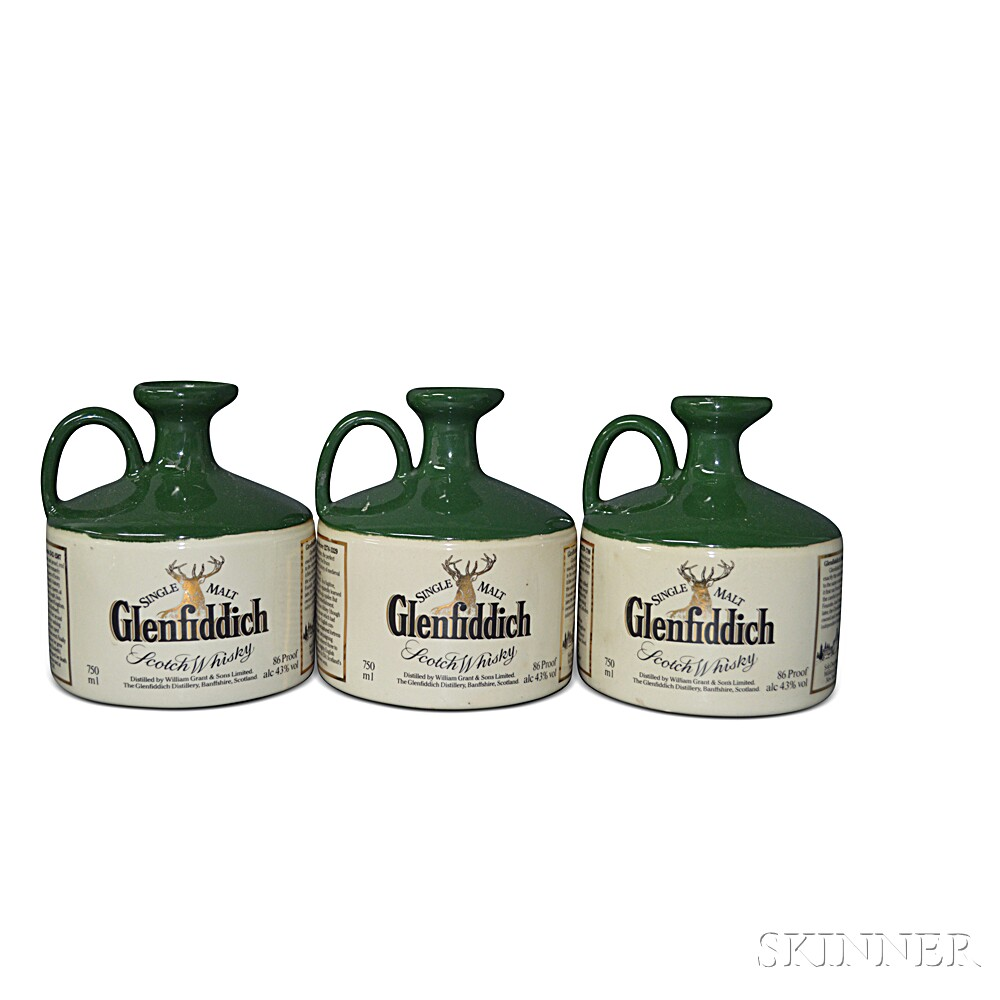 Glenfiddich Highland Crocks, 3 750ml bottles