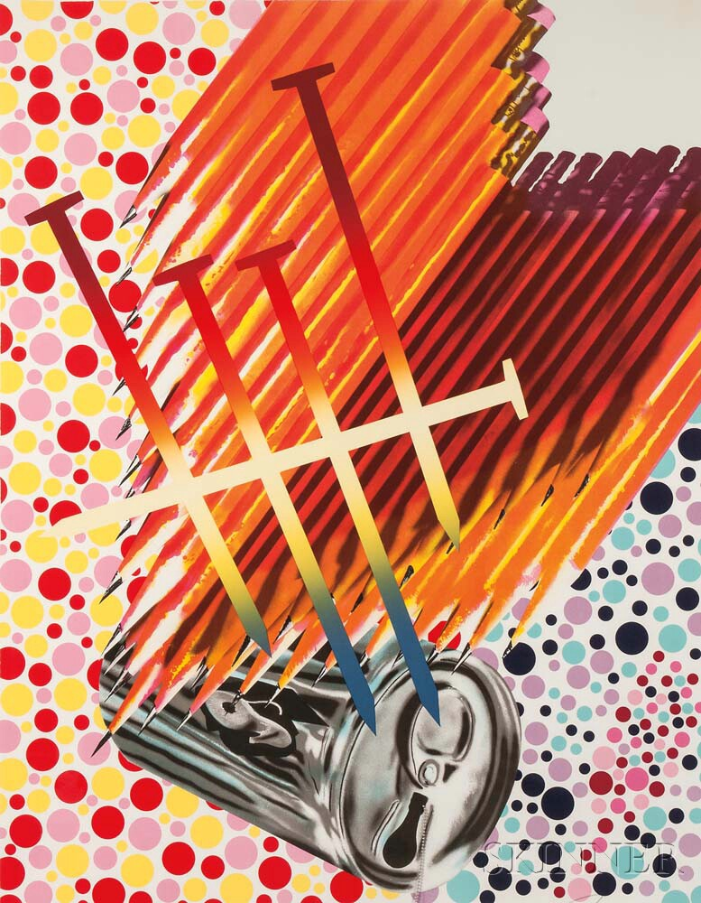 James Rosenquist (American, b. 1933)      The Light Bulb Shining