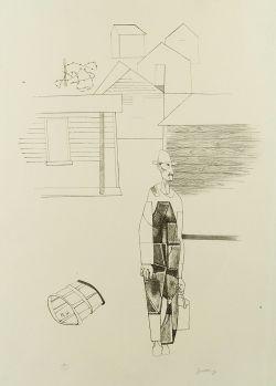 Robert Gwathmey (American, 1903-1989)  Sharecropper,
