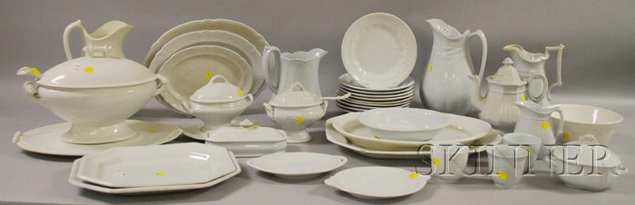 Collection of Ironstone Tableware