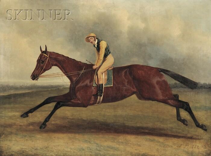 Charles Hancock (British, 1795-1868)      Blue Bonnet & Lye