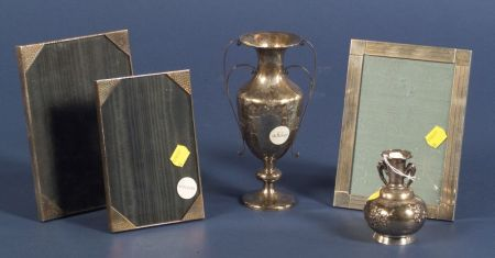 Five Small Silver Tablewares