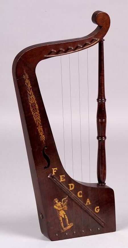 Musical Six-String Toy Harp