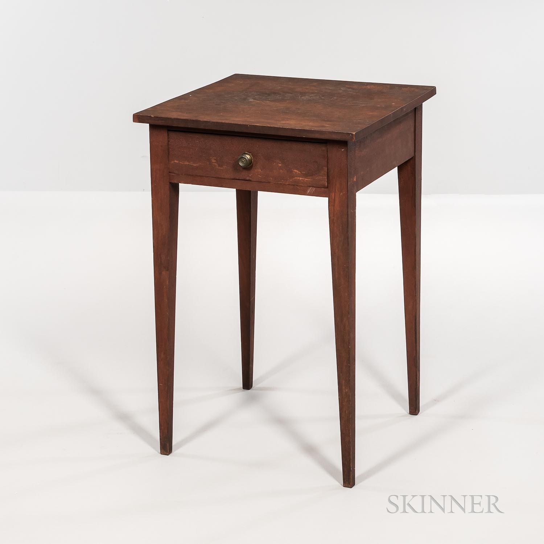 Cherry One-drawer Stand