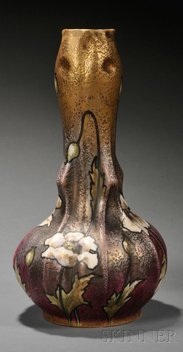 Amphora Art Nouveau  Vase