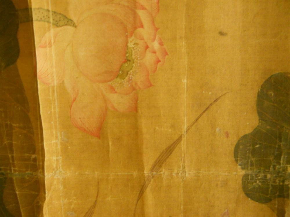 Two Hanging Scroll Paintings