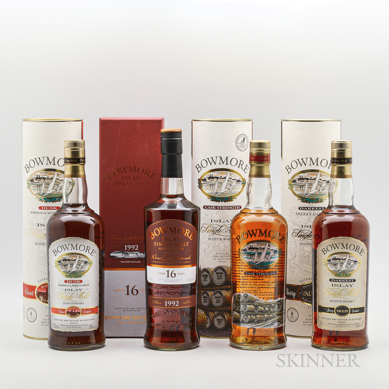 Bowmore, 4 750ml bottles (ot)