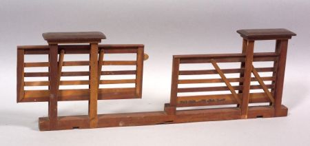 Wooden Fence Patent Model