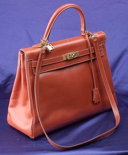 "Box Leather ""Kelly"" Handbag, Hermes"