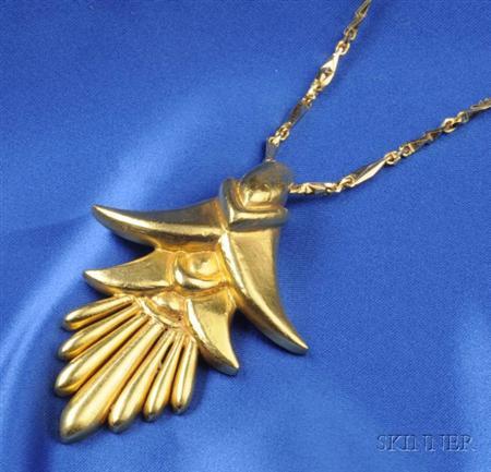 22kt Gold Pendant, Lalaounis