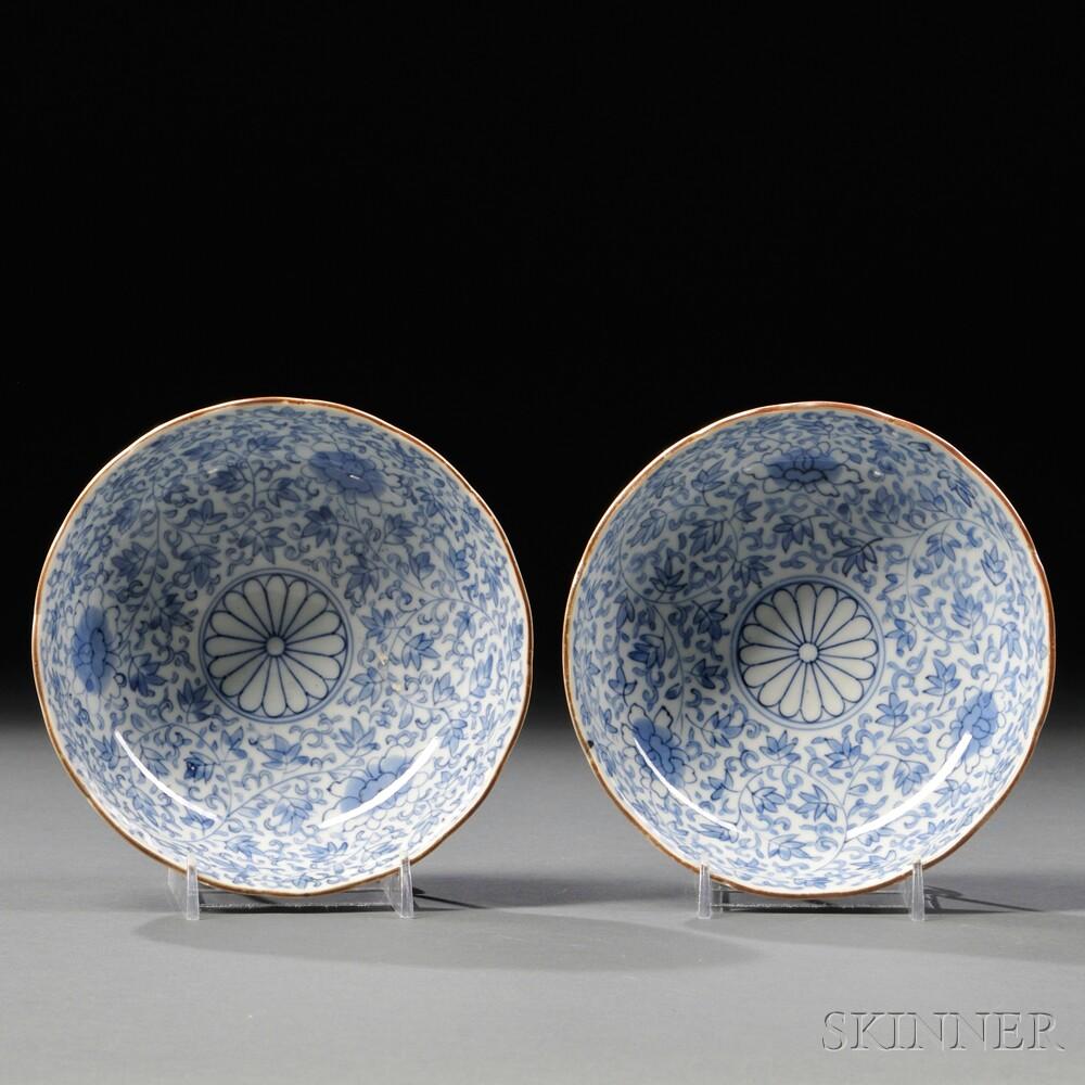 Two Sometsuke   Imari Dishes