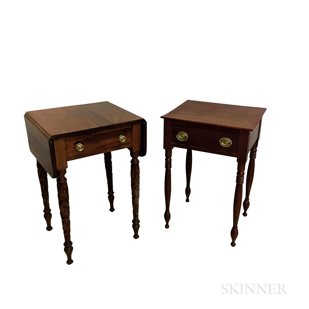 Two 19th Century One-drawer Stands