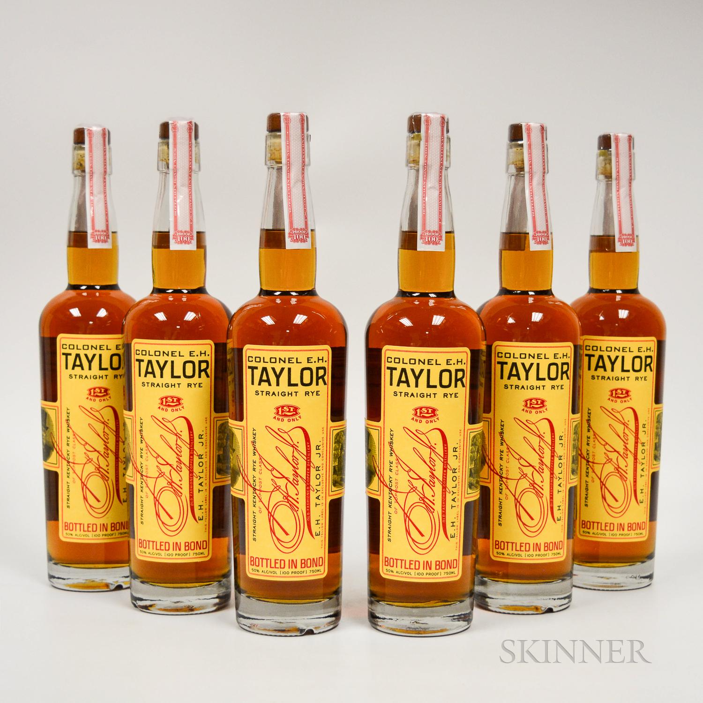 Colonel EH Taylor Rye, 6 750ml bottles (ot)