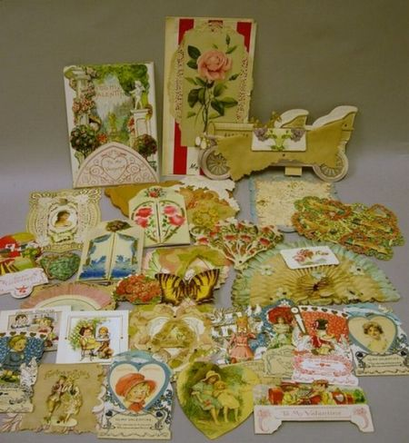 Lot of Assorted ValentinesLot of Assorted Valentines