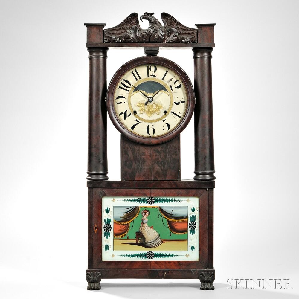 George Marsh Hollow Column Clock