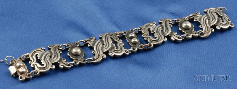 Mexican Silver Bracelet, William Spratling