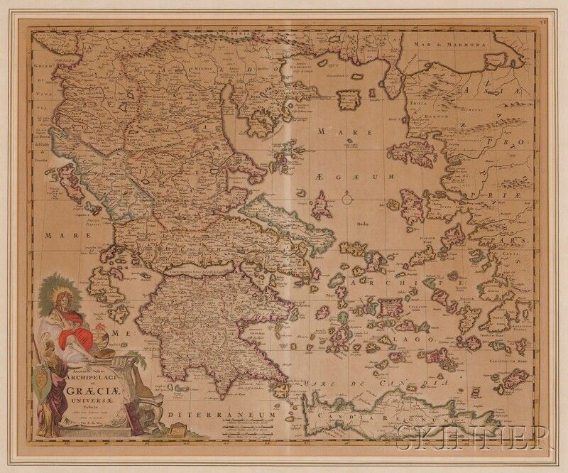 (Maps and Charts, Greece), De Wit, Frederick