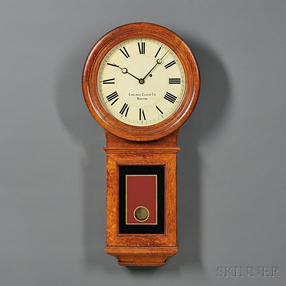 Chelsea Oak No. 1 Wall Regulator