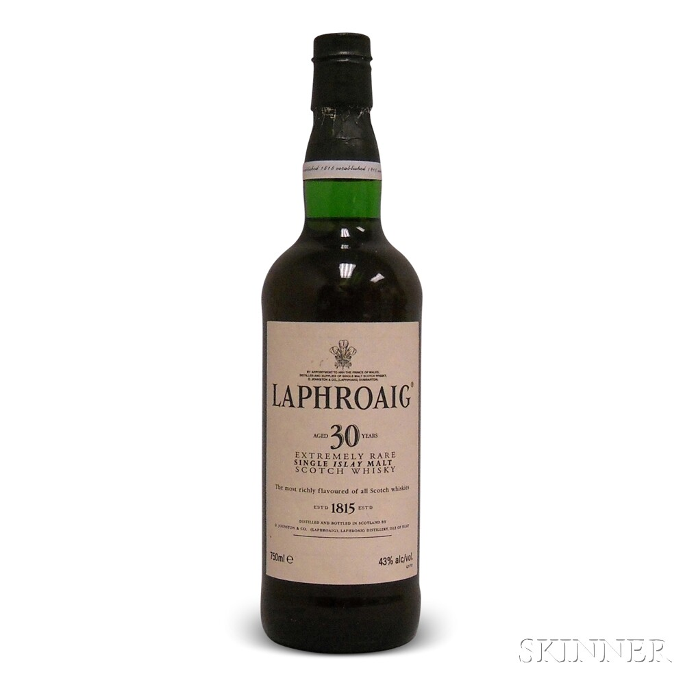 Laphroaig 30 Years Old, 1 750ml bottle
